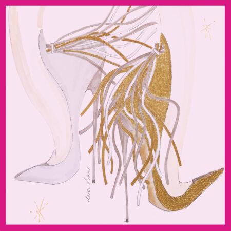 zoya white gold lana volkov with frame